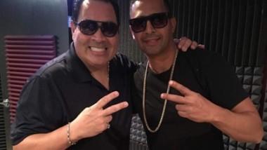 Charlie Cruz graba junto a Tito Nieves
