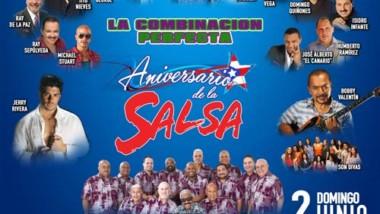 Arranca la pre-venta de boletos para el Aniversario de la Salsa 2019