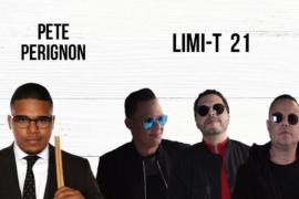 Pete Perigñon y Limi-T 21 se presentarán en el 10mo Fiestón del Chinchorreo